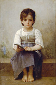 Una lliçó difícil de William-Adolphe Bouguereau (1884)